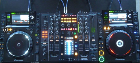 Neu im Mietpark: DJM 2000 und CDJ 2000